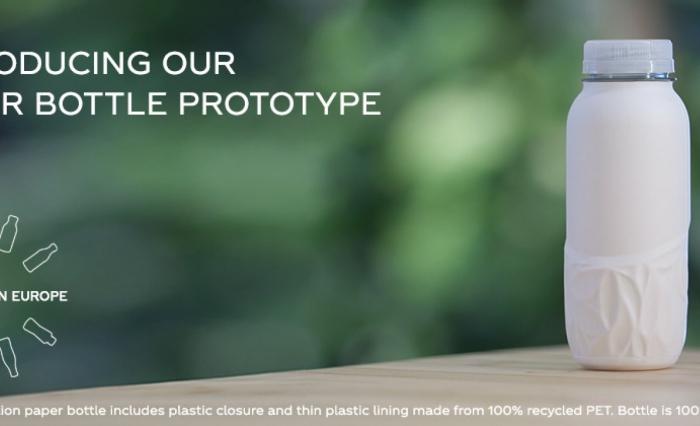 Coca-Cola proizvela prototip papirnate boce